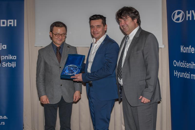 Marić centar najbolji Hyundai diler za 2016. godinu